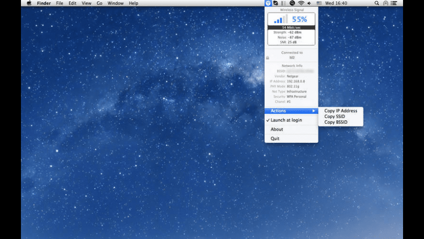Wireless Signal for Mac - review, screenshots