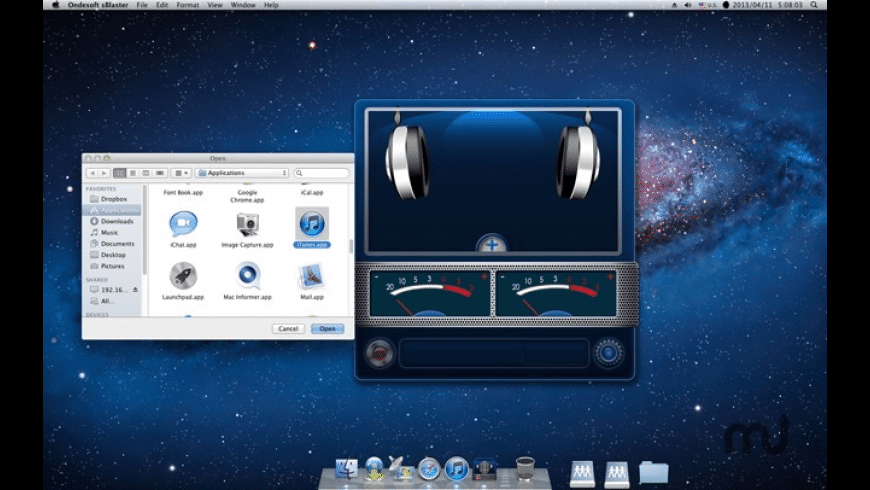 sBlaster for Mac - review, screenshots
