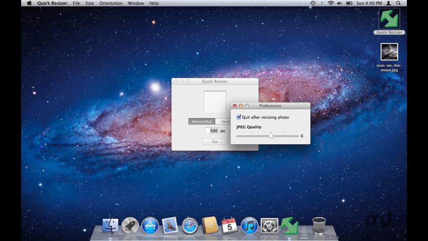 Quick Resizer for Mac - review, screenshots