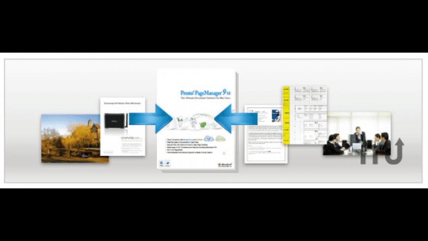 Presto! PageManager 9 SE for Mac - review, screenshots
