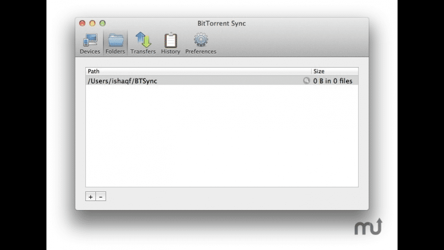 BitTorrent Sync for Mac - review, screenshots