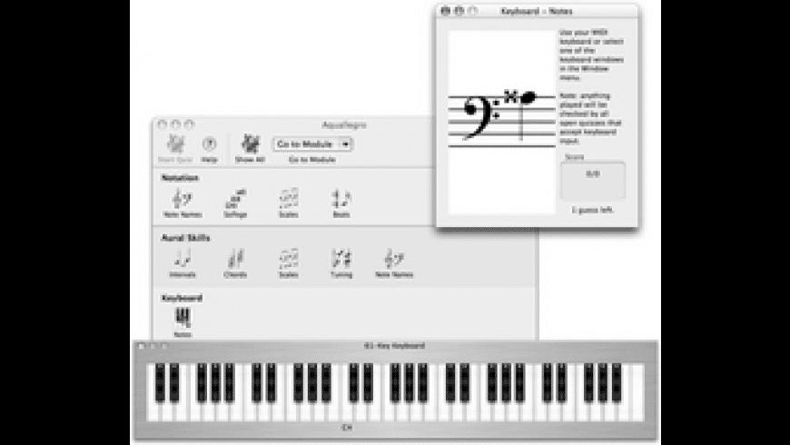 Aquallegro for Mac - review, screenshots
