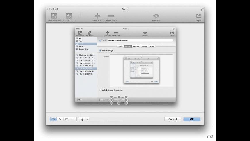 Steps for Mac - review, screenshots