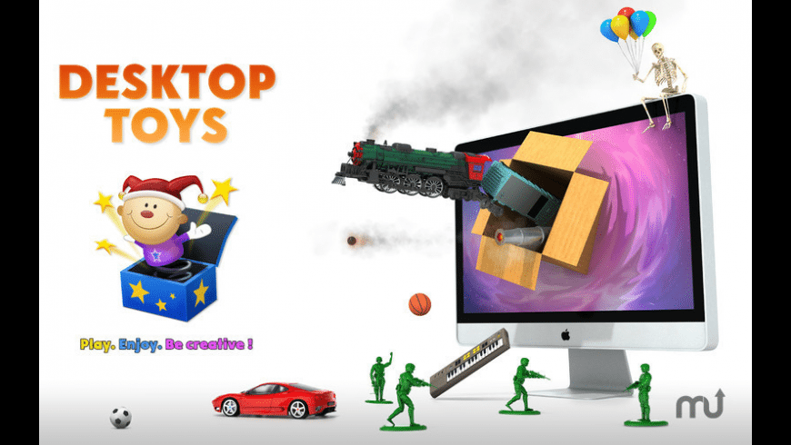 Desktop Toys for Mac - review, screenshots
