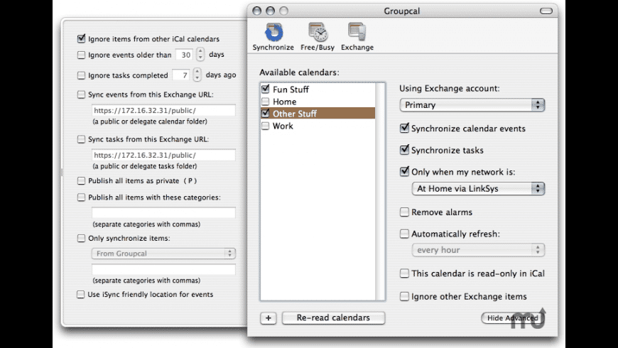 GroupCal for Mac - review, screenshots