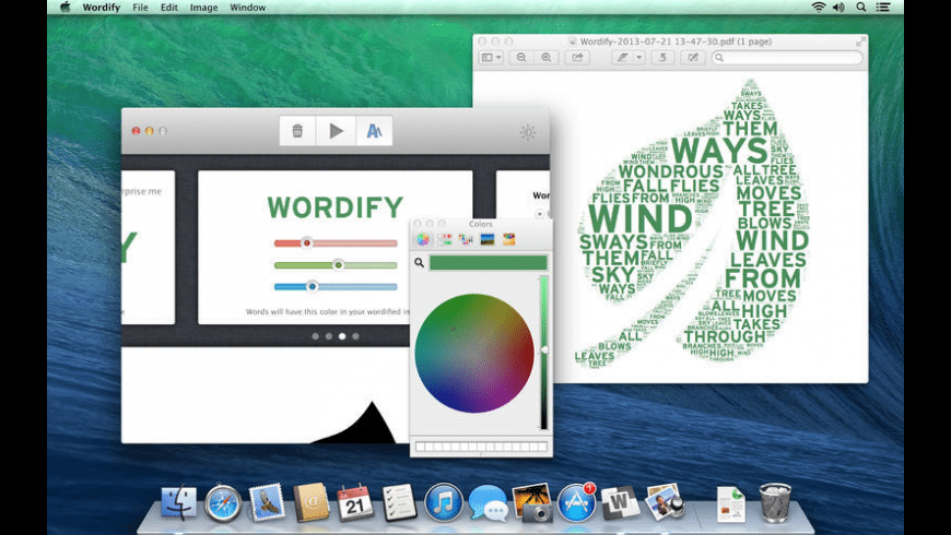 Wordify for Mac - review, screenshots