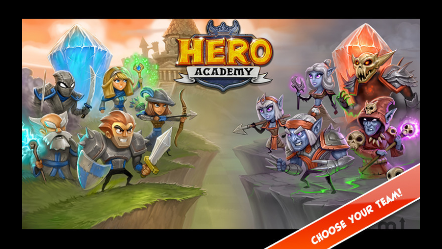 Hero Academy for Mac - review, screenshots