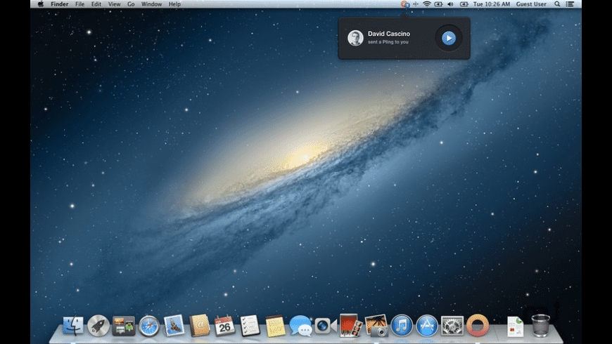 Pling for Mac - review, screenshots