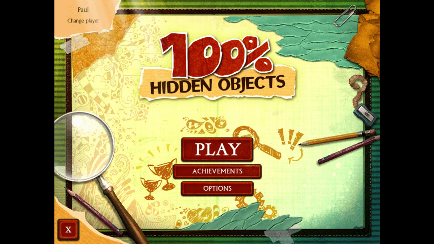 100% Hidden Objects for Mac - review, screenshots