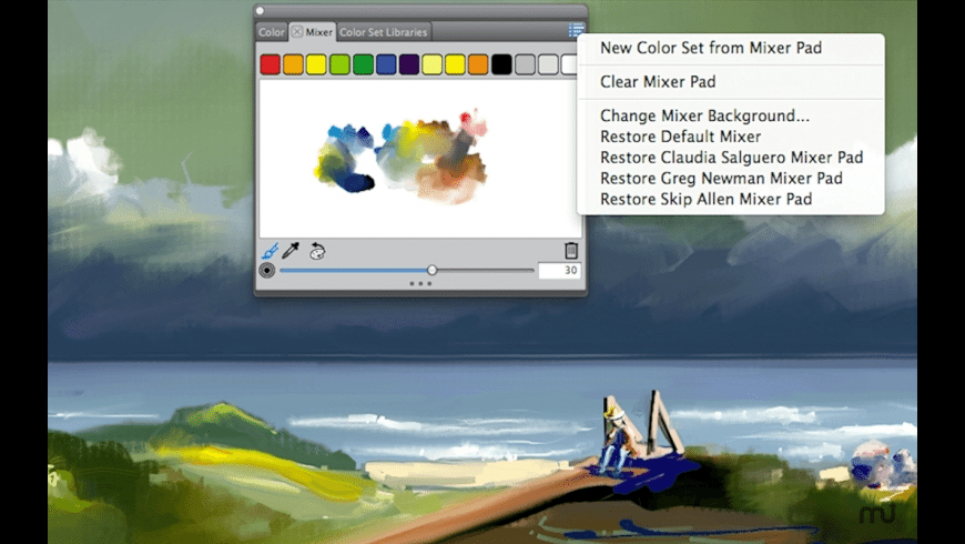Corel Painter Lite for Mac - review, screenshots