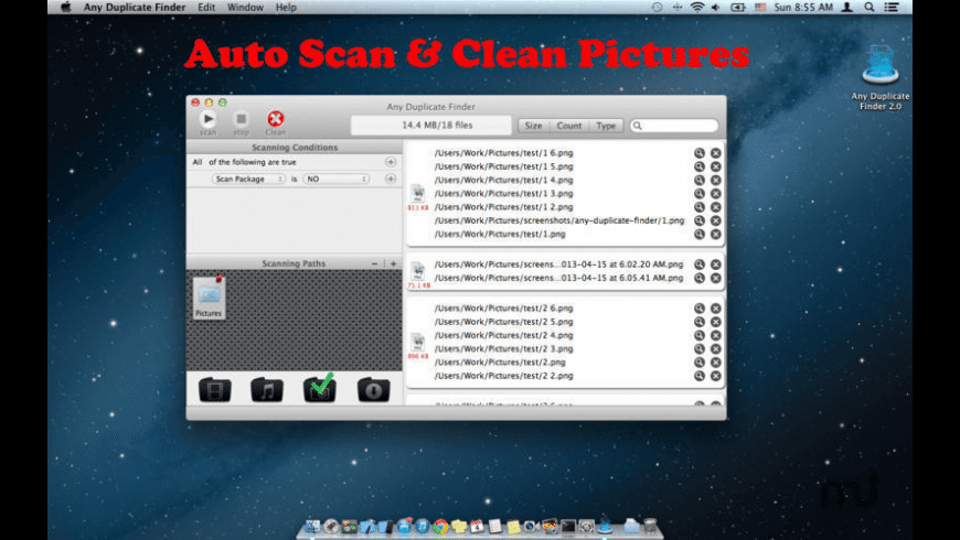 Any Duplicate Finder for Mac - review, screenshots