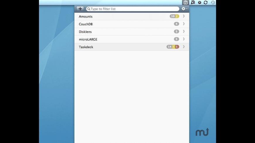 Taskdeck for Mac - review, screenshots