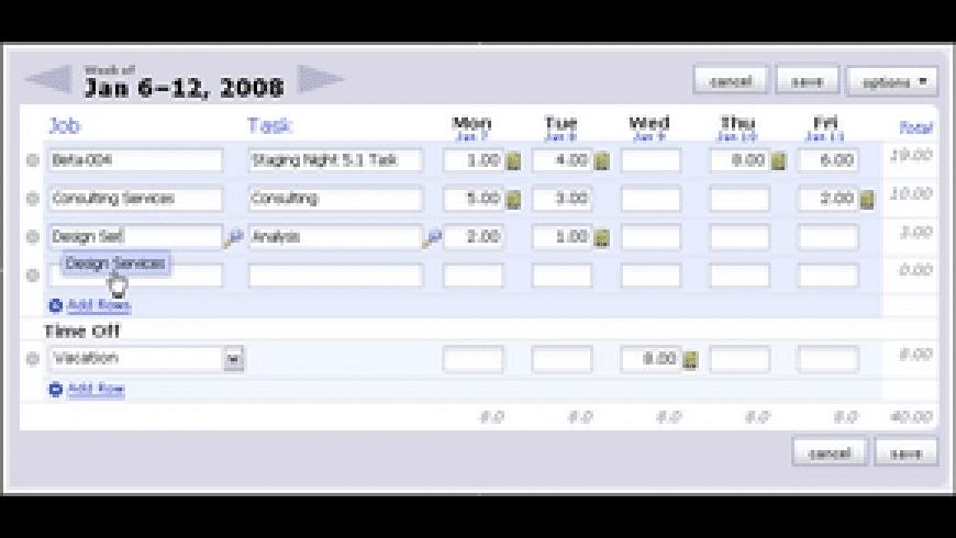 ClickTime for Mac - review, screenshots