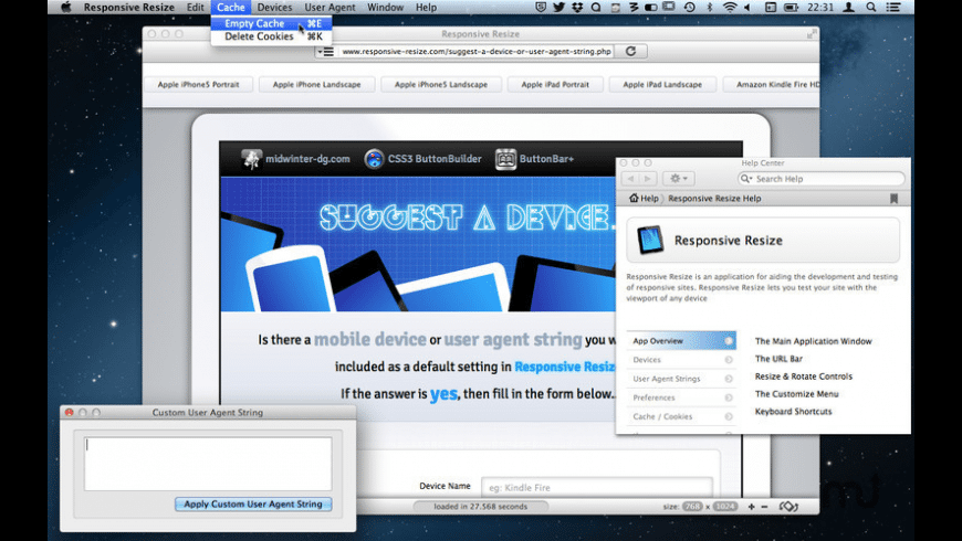 Responsive Resize for Mac - review, screenshots