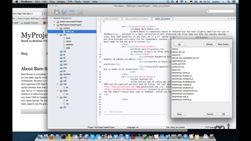 TheMaker for Mac - review, screenshots