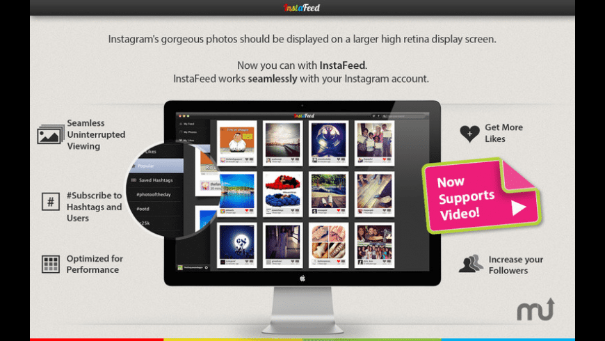 InstaFeed for Mac - review, screenshots