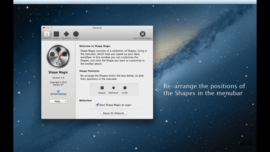 Shape Magic for Mac - review, screenshots