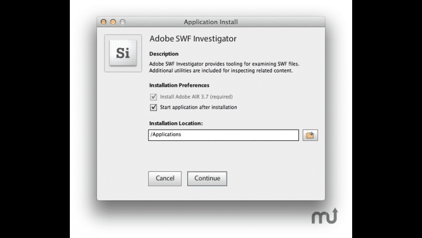 Adobe SWF Investigator for Mac - review, screenshots
