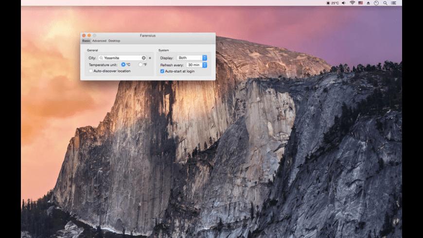Farensius for Mac - review, screenshots