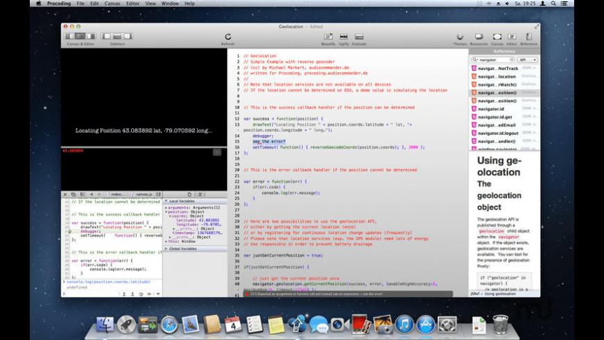 Procoding for Mac - review, screenshots
