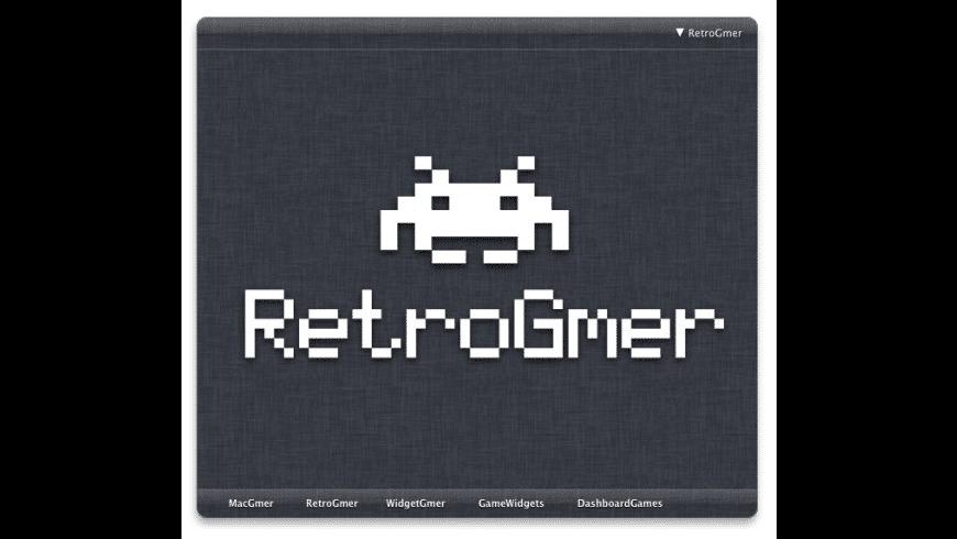 RetroGmer for Mac - review, screenshots