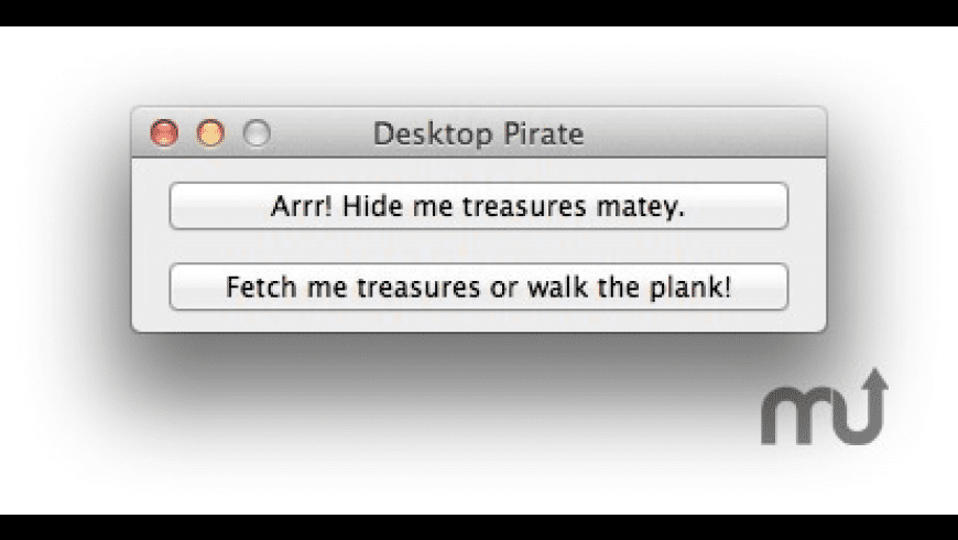 Desktop Pirate for Mac - review, screenshots