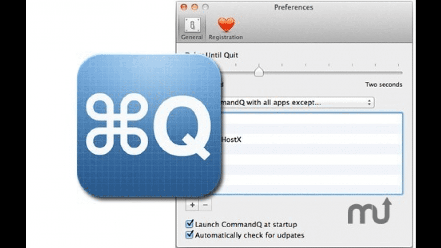 CommandQ for Mac - review, screenshots