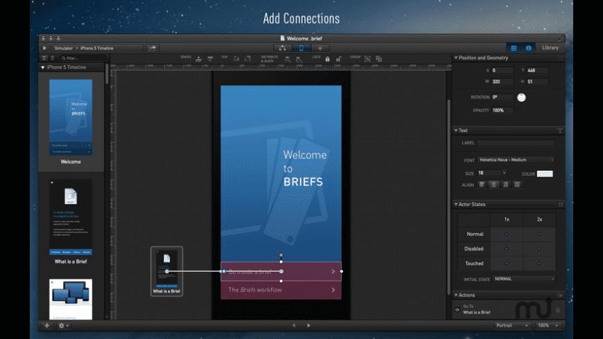 Briefs for Mac - review, screenshots