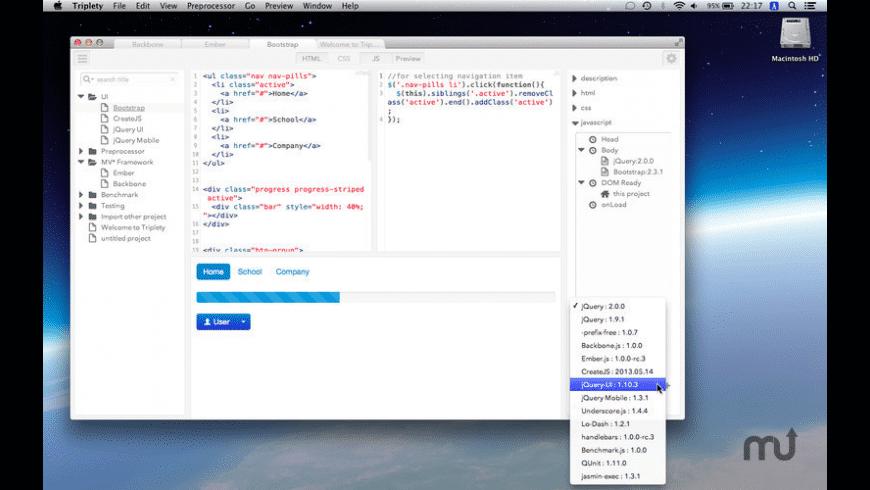 Triplety for Mac - review, screenshots