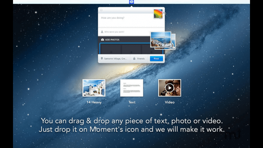 Moment for Mac - review, screenshots