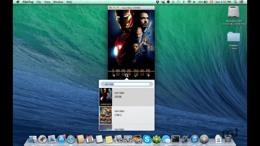 FilmTag for Mac - review, screenshots