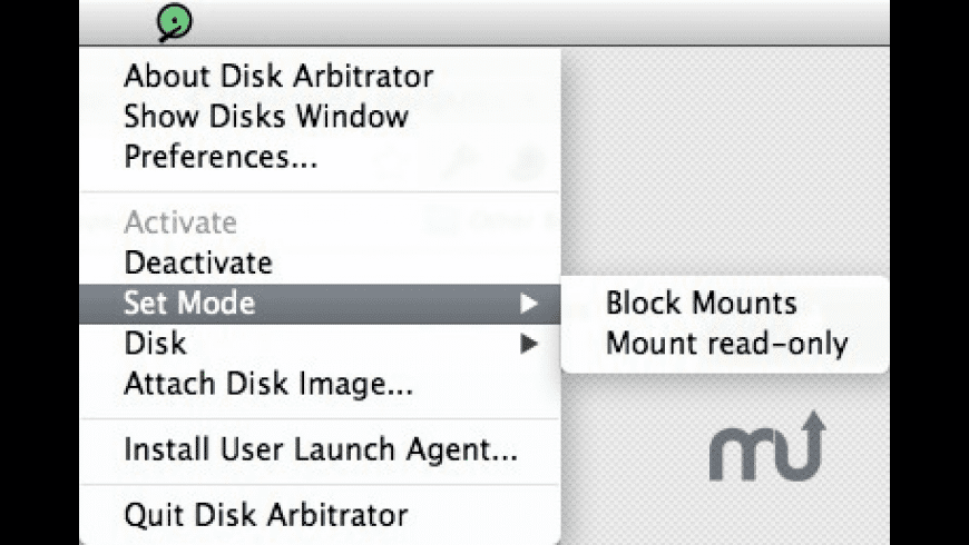 Disk Arbitrator for Mac - review, screenshots