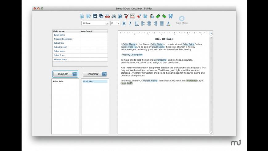 SmoothDocs for Mac - review, screenshots