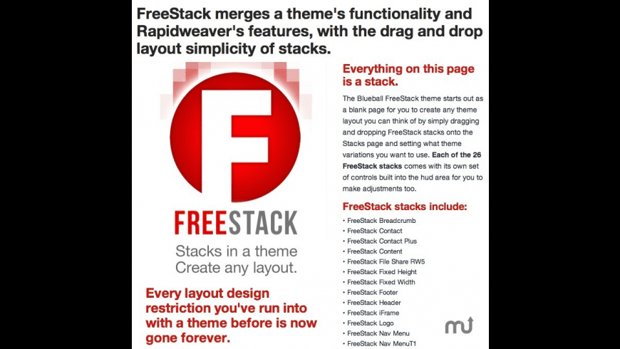 FreeStack for Mac - review, screenshots