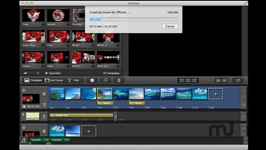 FotoTube for Mac - review, screenshots