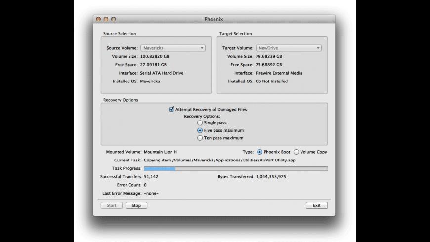 Phoenix for Mac - review, screenshots