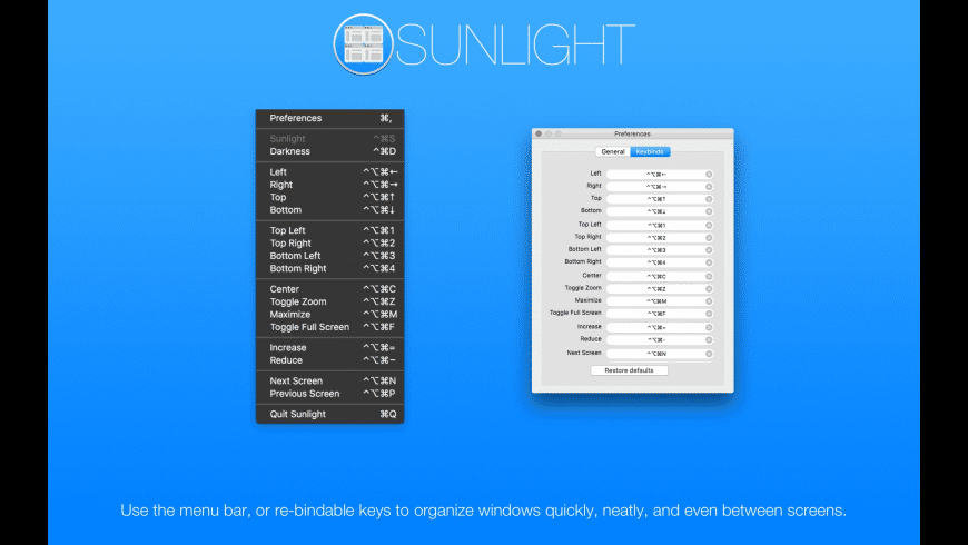 Sunlight for Mac - review, screenshots