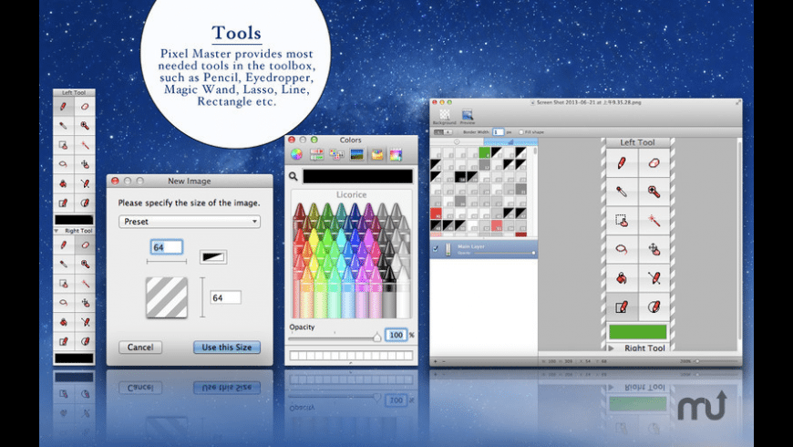 Pixel Master for Mac - review, screenshots