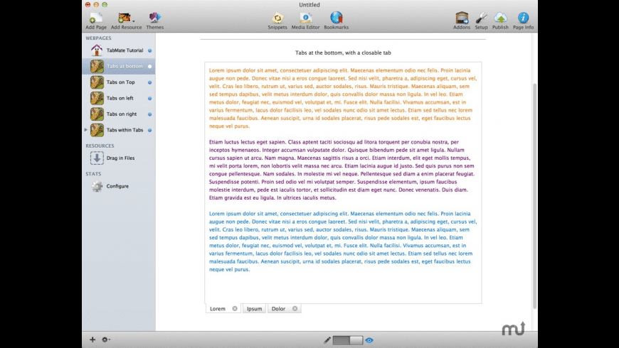 TabMate Stack for Mac - review, screenshots