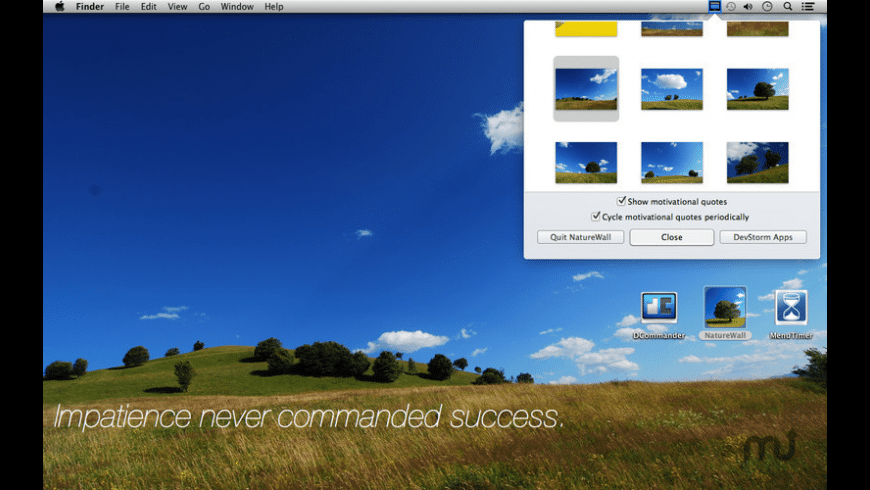 NatureWall for Mac - review, screenshots