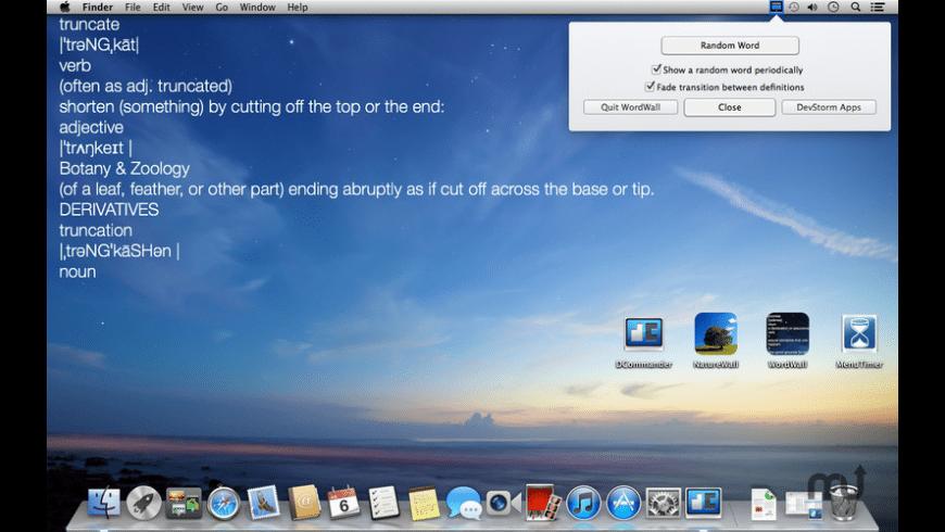 WordWall for Mac - review, screenshots