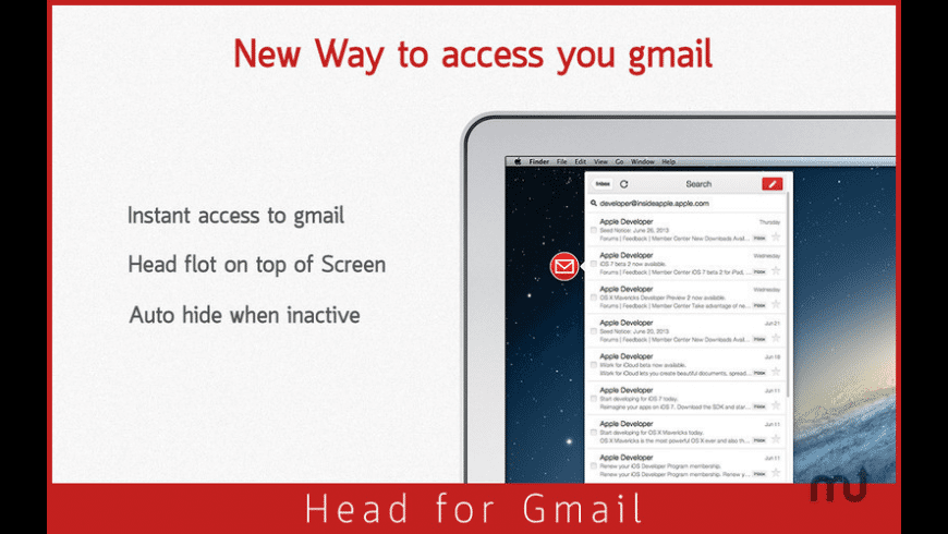 Head for Gmail for Mac - review, screenshots
