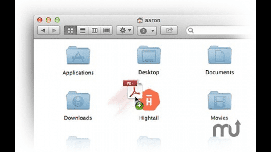 Hightail for Mac - review, screenshots