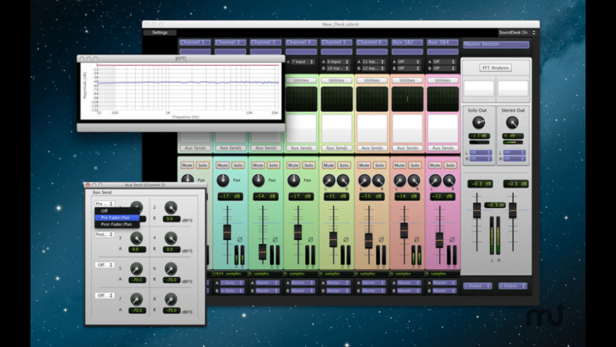 SoundDesk LE for Mac - review, screenshots