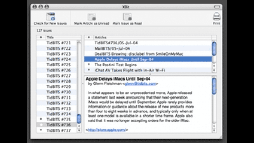 XBit for Mac - review, screenshots