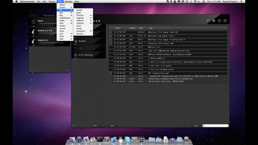 RailsAssistant for Mac - review, screenshots