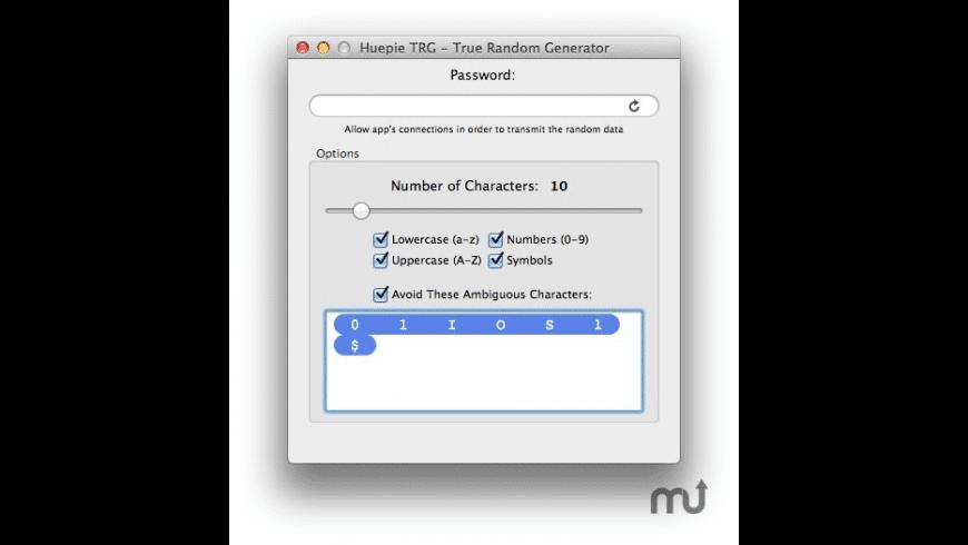 TRG for Mac - review, screenshots