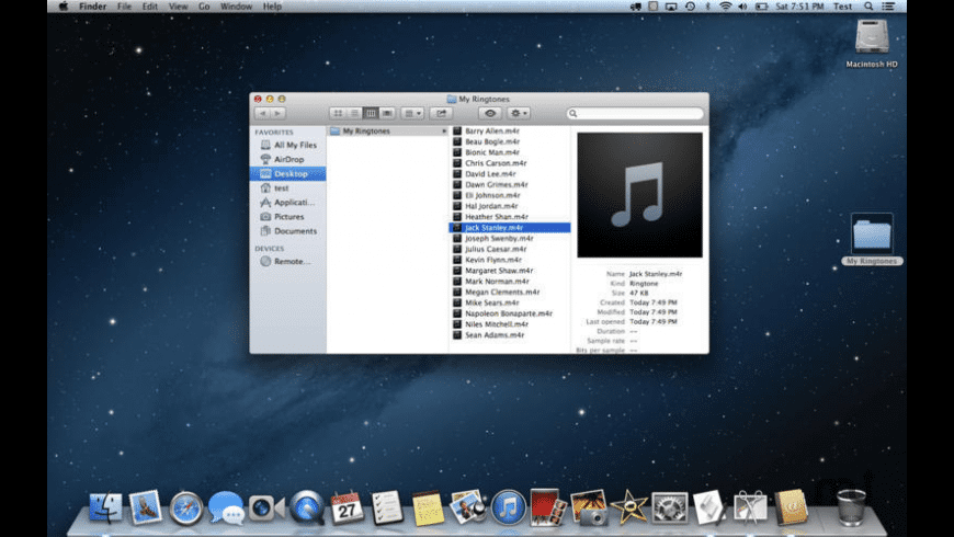 Speaking Ringtone Maker for Mac - review, screenshots