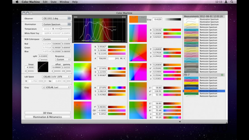 Color Machine for Mac - review, screenshots