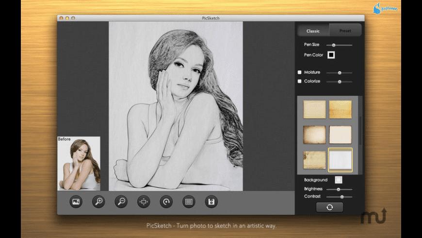 PicSketch for Mac - review, screenshots